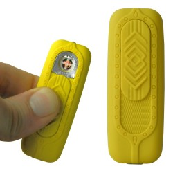 Briquet usb mini bur jaune