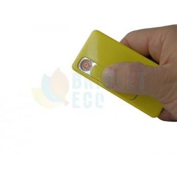 Briquet usb à batterie forme carte de crédit