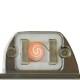 résistance briquet infinity métal doré cuir ébène