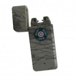 Briquet à ARC électrique camouflage feuille briquet USB LE PULSAR