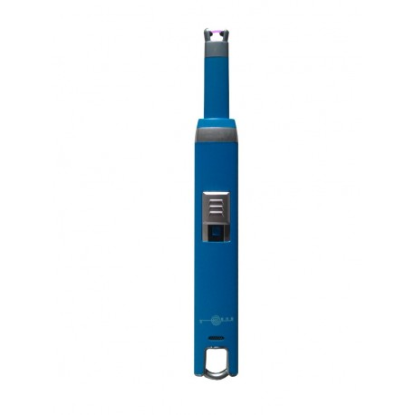 Briquet a bougie arc USB couleur bleu BUR
