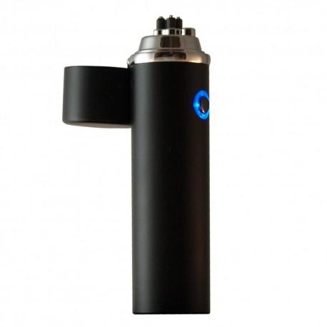 Briquet bi-arc USB spécial cigare et pipe Noir mat BUR